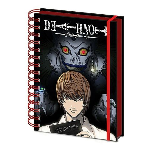 Death Note Shadow A5 Wiro Notebook Note Pad
